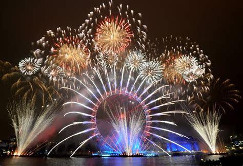 watching londons  years eve fireworks display