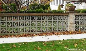 decorative concrete block for fences Quotes
