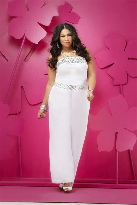 size fashion  white party pinterest