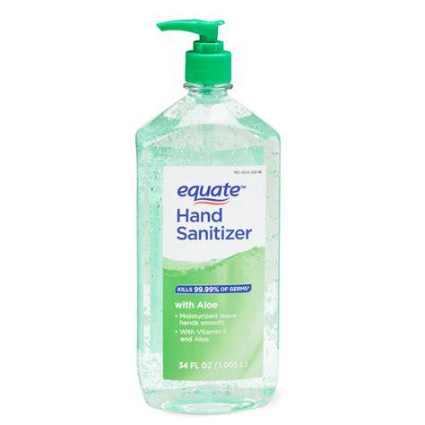 equate hand sanitizer  aloe  fl oz walmartcom