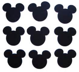 Mickey Mouse Cut Outs Printable