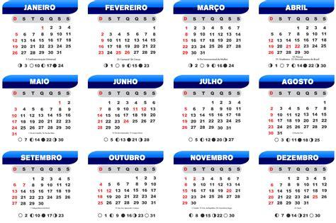 base calendario azul degrade imagem legal