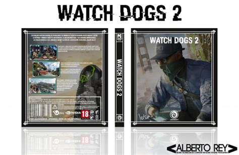 Watch Dogs 2 Pc Box Art Cover By Pekenosalta
