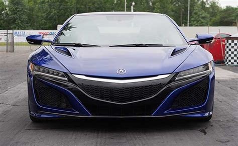 the acura nsx is ready for winter and here s why thespec com