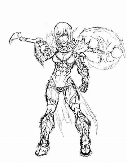 Skyrim Armor Drawing Daedric Getdrawings