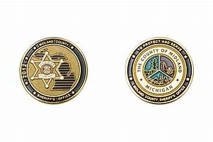 Ec6343 midland county sheriff office the emblem authority for Military coin design template