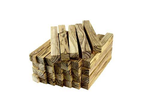 Olive Wood Pen Blanks 33 Pk (0.75