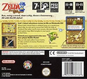 The Legend Of Zelda Phantom Hourglass For Nintendo Ds