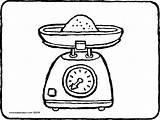 Colouring Kleurplaat Keukenweegschaal Kiddicolour Balance Weegschaal Coloring Scale Tekening Kiddicoloriage Koken Kitchen Ausmalbilder Scales Drawing Culinaire Cocinar Peso Dessin Kochen sketch template