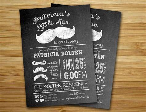 mustache baby shower invitations mustache baby shower invitations dolanpedia invitations