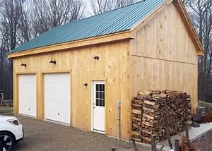 2 car garage kits two car garage plans With 24x40 garage kit