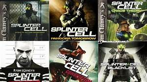 Splinter Cell Has Changed Just Look At The Box Art