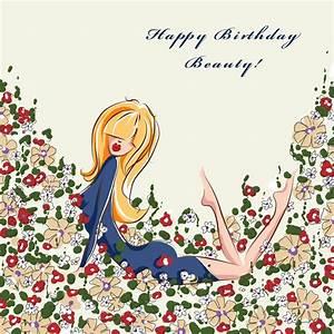 Happy Birthday Beautiful Girl The card was pretty much ...