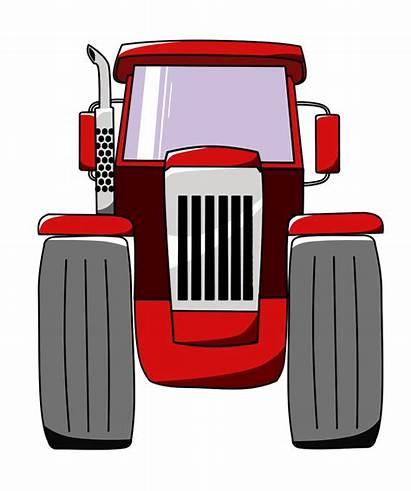 Tractor Clipart Cartoon International Transparent Microsoft Opengameart