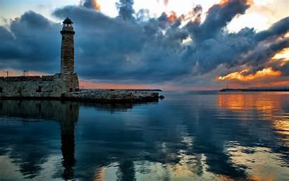 Lighthouse Wallpapers Desktop Widescreen Bing Ocean Lighthouses