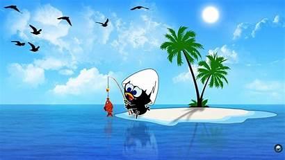 Cartoon Wallpapers Desktop Laptop Cartoons Calimero Bird