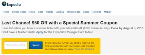 expedia phone number usa expedia 50 200 when you pay with mastercard