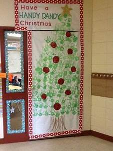 Decorate Door Contest for Christmas gonna do this to our