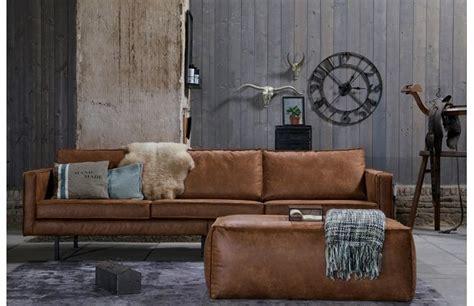 canape vintage cuir canapé vintage cuir marron clair 3 places aspen prix promo