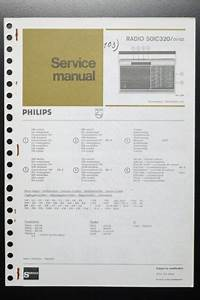 Philips Radio 50ic320 Original Service Manual  Guide