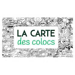 Carte Des Colocs by La Carte Des Colocs Bleu Blanc Z 232 Bre