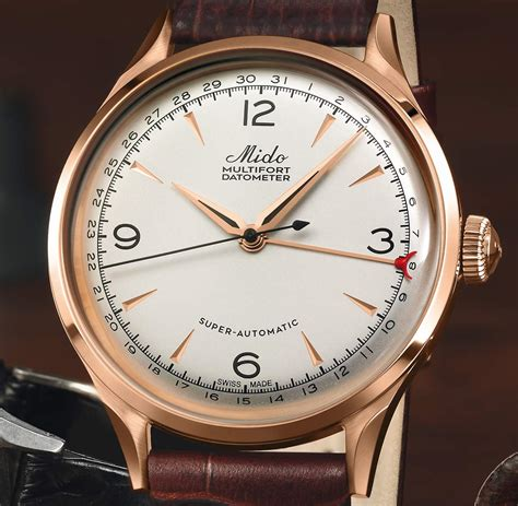Mido - Multifort Datometer Limited Edition | Time and ...