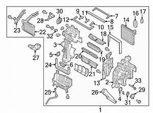 Hyundai Santa Fe Air Conditioning  A  C  Evaporator Drain
