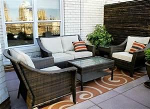 Gartenmöbel Kleiner Balkon : bambus balkon sichtschutz gestaltung ideen im feng shui stil ~ Lateststills.com Haus und Dekorationen