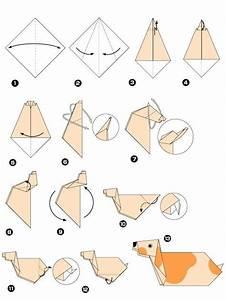 Origami Animaux Facile Gratuit : origami facile de chien ~ Dode.kayakingforconservation.com Idées de Décoration