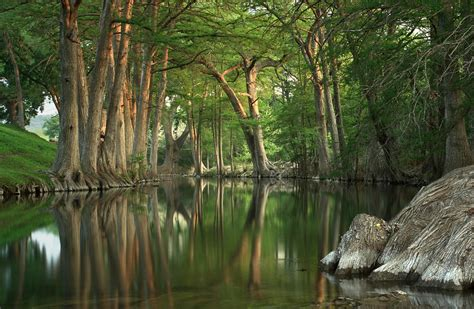 guadalupe river reflections photograph by paul huchton