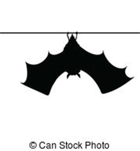 Hanging Bat Vector Clip Art Eps Images 281 Hanging Bat