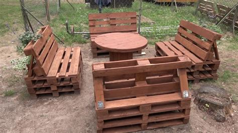 Stób Z Palet by Meble Z Palet Odchylone Oparcie Furniture Made Of Pallets