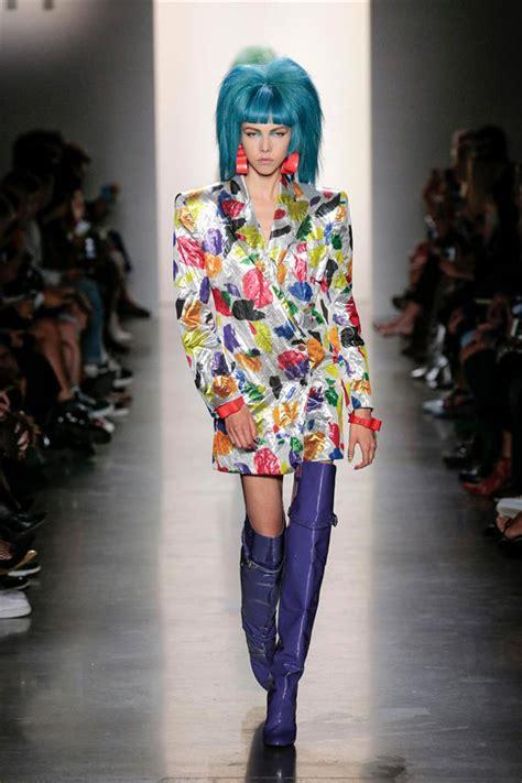 york fashion week jeremy scott spring collection