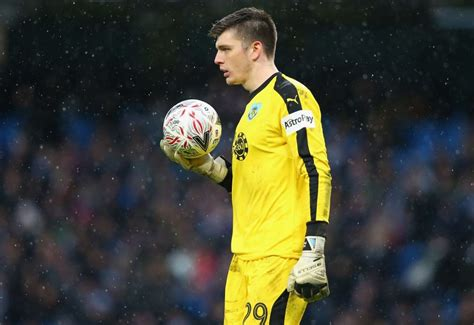 Arsenal interested in Burnley's Nick Pope as Petr Cech ...