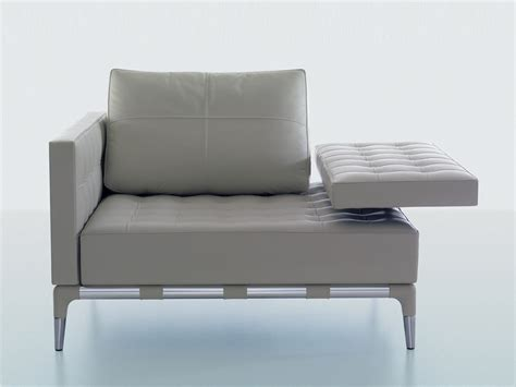 Buy The Cassina 241 Privé Armchair White Leather At Nest.co.uk