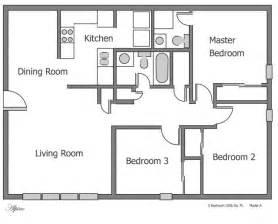 3 bedroom floor plan plain 3 bedroom apartment floor plans on apartments with