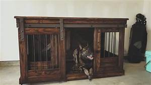 buy a hand crafted dog crate credenza made to order from With custom dog kennel furniture