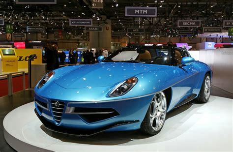 alfa disco volante 2013 alfa romeo disco volante spider stuns in blue 187 autoguide