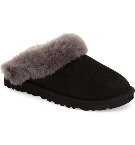 ugg cluggette genuine shearling indooroutdoor slipper