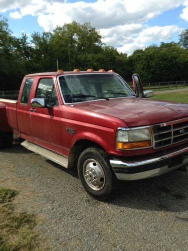 Sell Used Ford Dually Liter Turbo Diesel Boyce