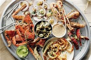 Grilled Seafood Platter Recipe - Taste.com.au