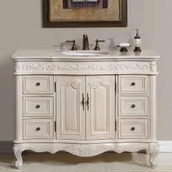 Shabby Chic Double Bathroom Vanity by 48 Perfecta Pa 113 Bathroom Vanity Single Sink Cabinet