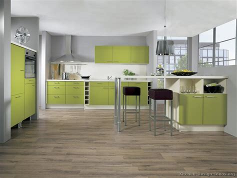 green kitchen ideas pictures of kitchens modern green kitchen cabinets