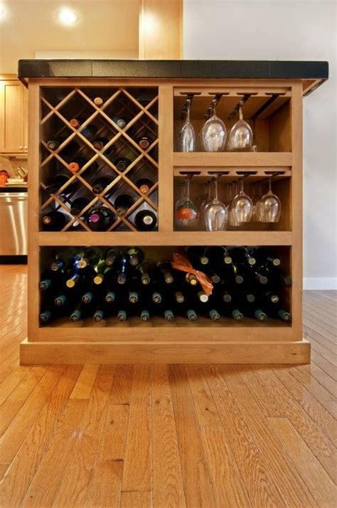 17 Best ideas about Wine Rack Cabinet on Pinterest   Built