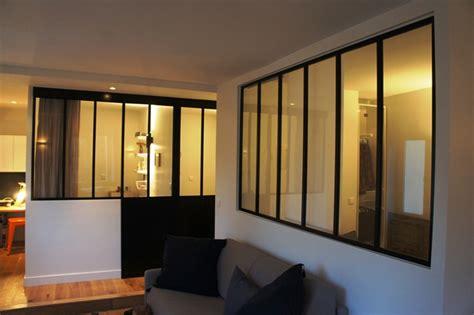 separation salon chambre verrière pour séparer une chambre et un salon