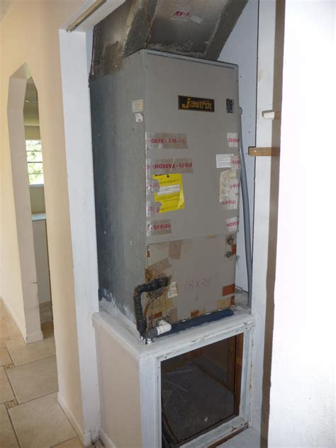 air handler closet retrofit building america solution center