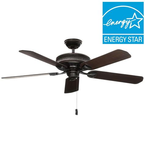 casablanca ceiling fans home depot casablanca ainsworth 54 in indoor basque black ceiling