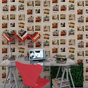 4 Murs Papier Peint Chambre : papier peint impression photos summer pola chez 4 murs ~ Zukunftsfamilie.com Idées de Décoration