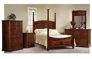 Cherry Bedroom Furniture - Handcrafted in America