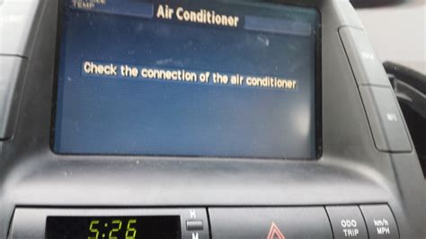 check  connection  air conditioning error priuschat